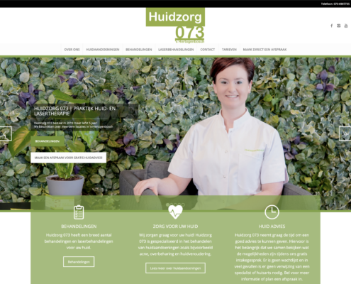 website Huidzorg 073 Den Bosch