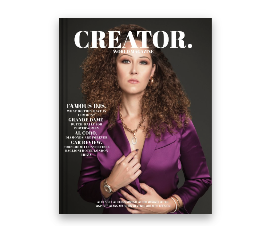 CREATOR WORLD MAGAZINE